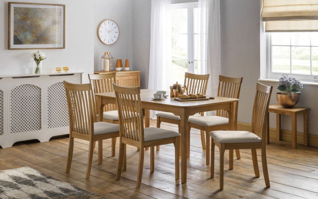 Julian Bowen Ibsen Extending Table & 6 Chairs