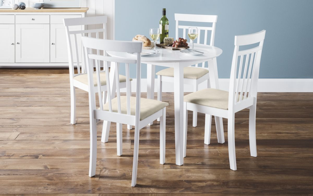 Julian Bowen Coast Drop Leaf Table & 4 Chairs