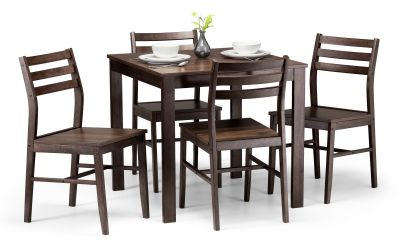 Julian Bowen Monterey Table & 4 Chairs