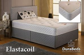 Durabed Elastacoil Double Divan Set with 2 Free Drawers & Headboard