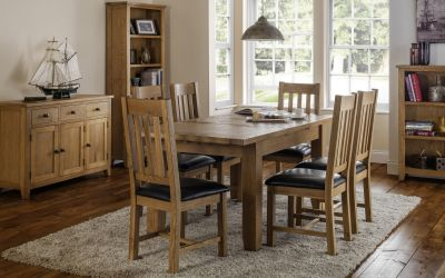 Julian Bowen Astoria Extending Table & 4 Chairs