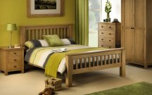 Julian Bowen Amsterdam High Foot End Double Bedframe
