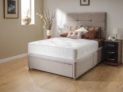 Sleep Revolution Kensington Double Divan Set 2 Free Drawers & Headboard