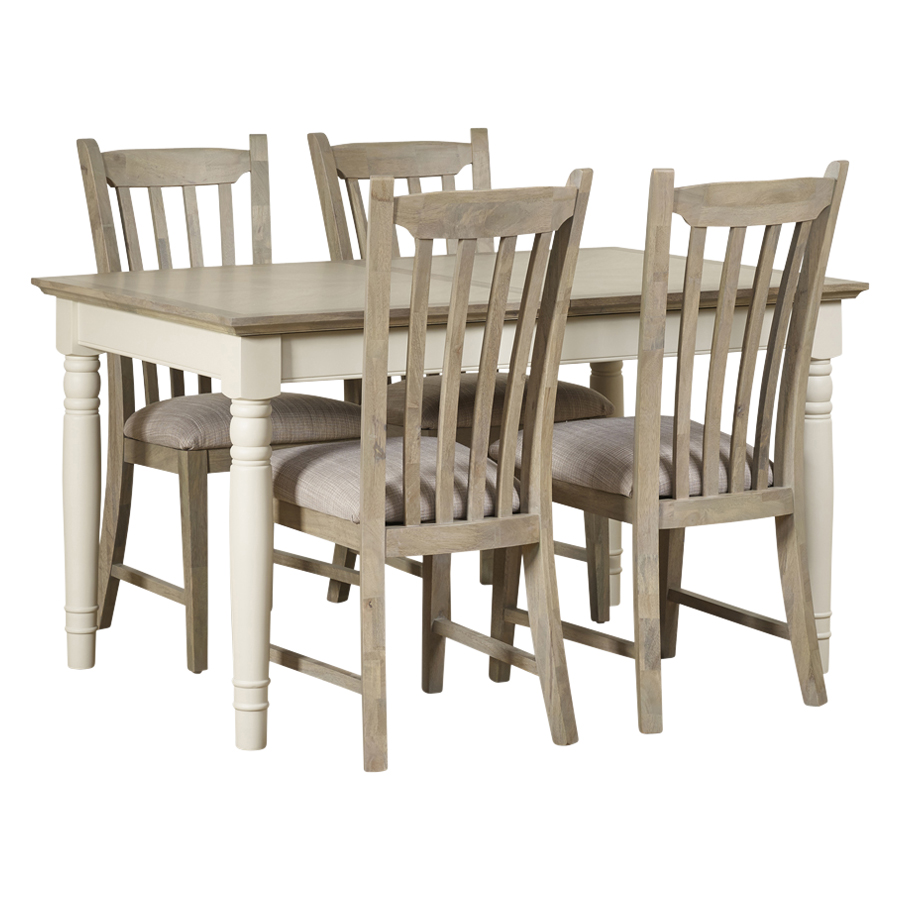 Mark Webster Lily Extending Table & 4 Chairs