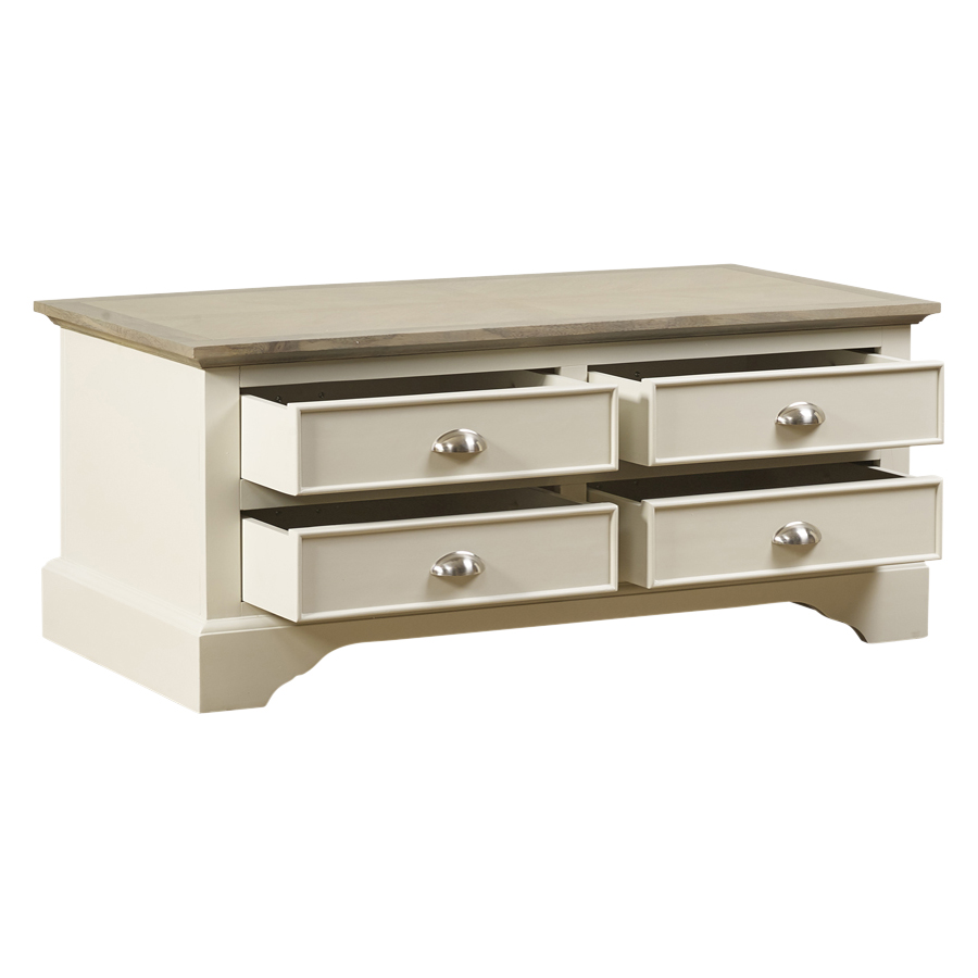 Mark Webster Lily 4 Drawer Coffee Table