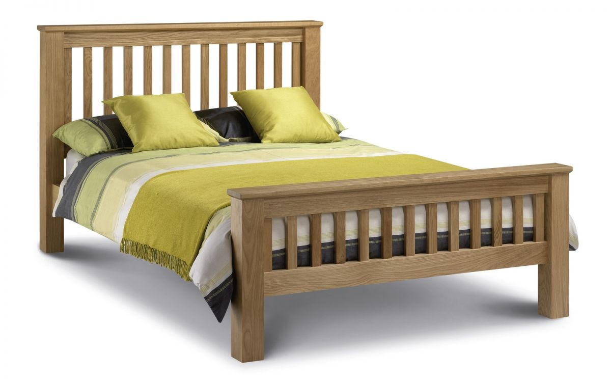 Julian Bowen Amsterdam High Foot End Super King Bedframe