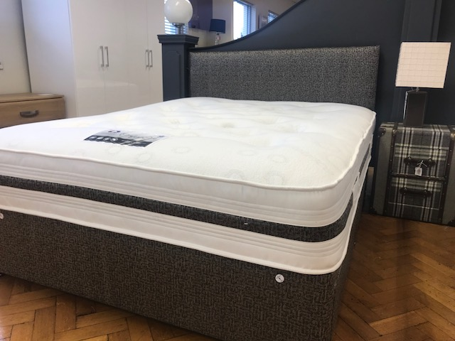 Durabed Comfort Care Double Divan Set with 2 Free Drawers & Headboard