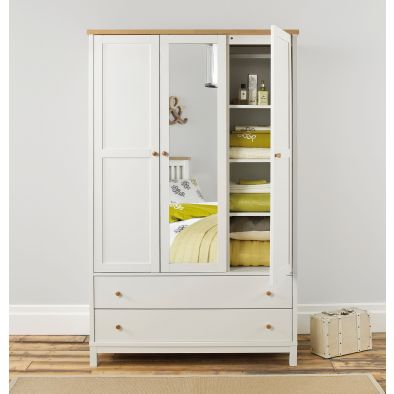 Bentley Designs Atlanta Triple Wardrobe