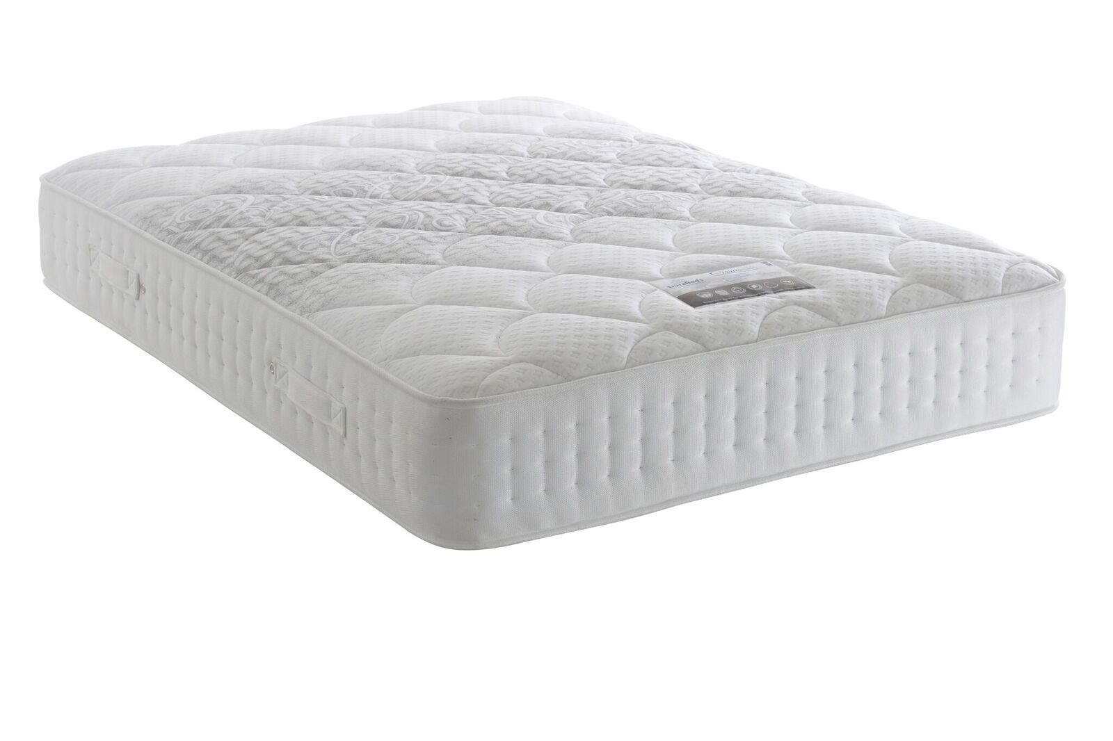 Durabed Climate 2000 Double Divan Set 2 Free Drawers & Headboard