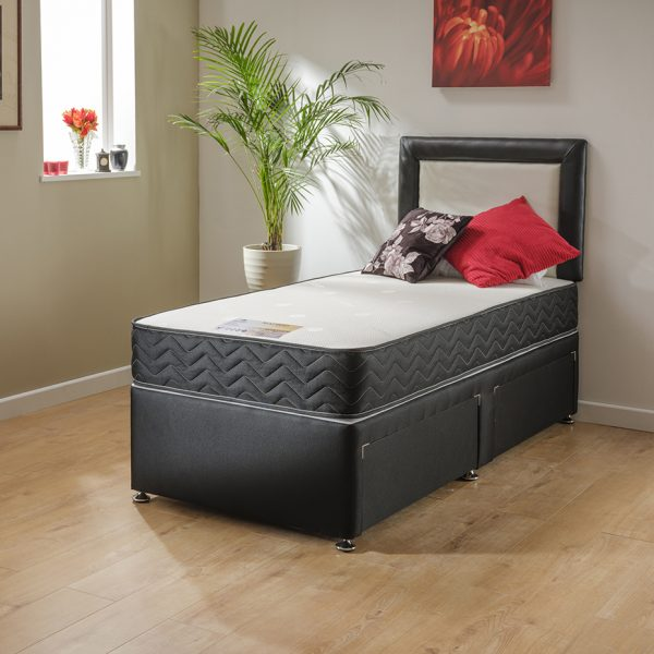Sleep Revolution Madrid Single 2 Drawer Divan Set