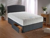 Durabed Sensacool 1500 Double Divan Set 2 Free Drawers & Headboard