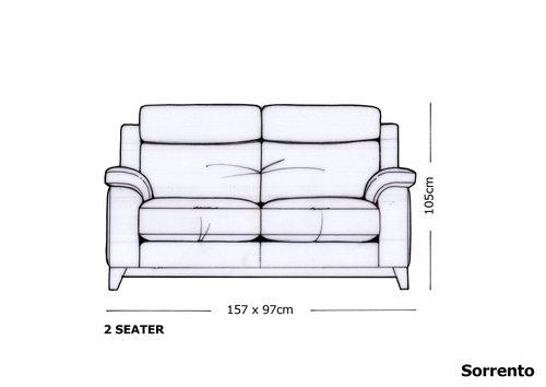 Yeoman Sorrento 2 Seater Sofa