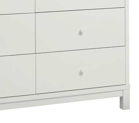 Bentley Designs Atlanta 6 Drawer Chest of Drawers