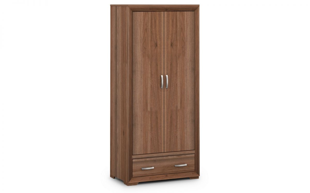 Julian Bowen Buckingham 2 Door Combination Wardrobe