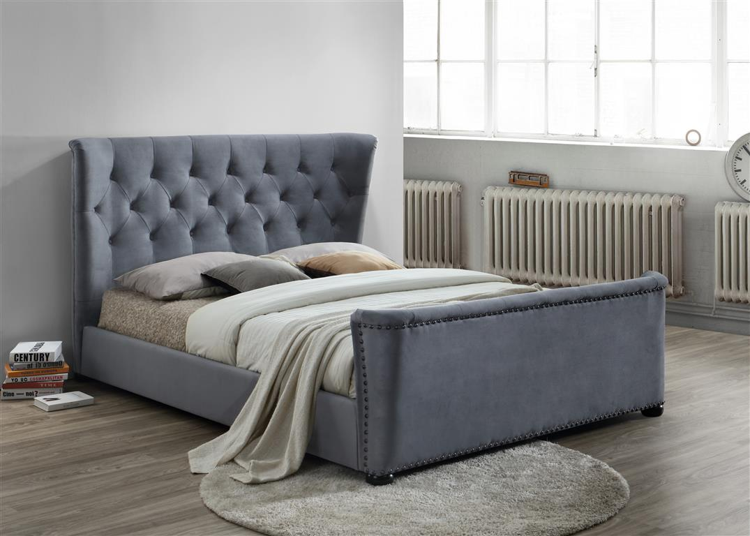 Birlea Barkley Kingsize Fabric Bedframe