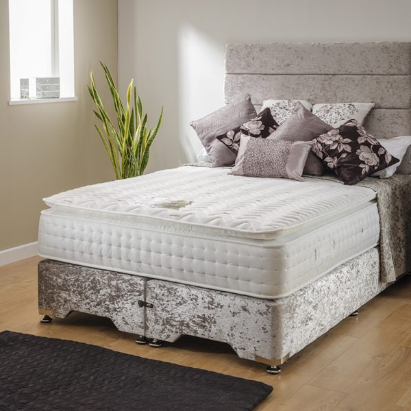 Sleep Revolution Mayfair Kingsize Divan Set