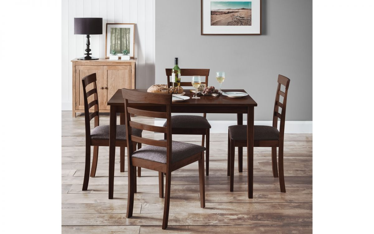 Julian Bowen Cleo Table & 4 Chairs