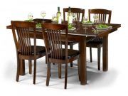 Julian Bowen Canterbury Ext Table & 4 Chairs