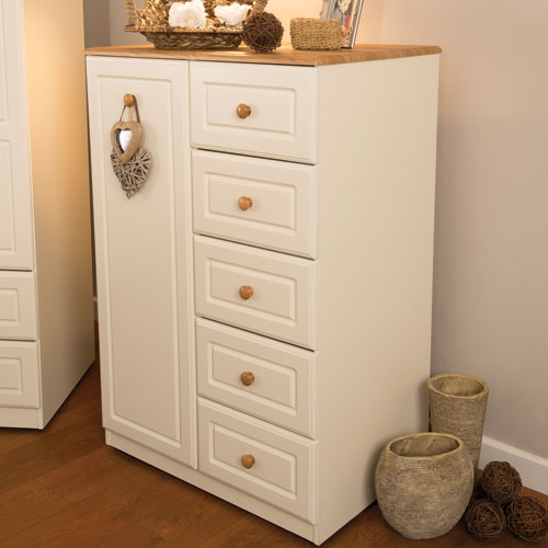 SJ Units Saxon Linen Cupboard