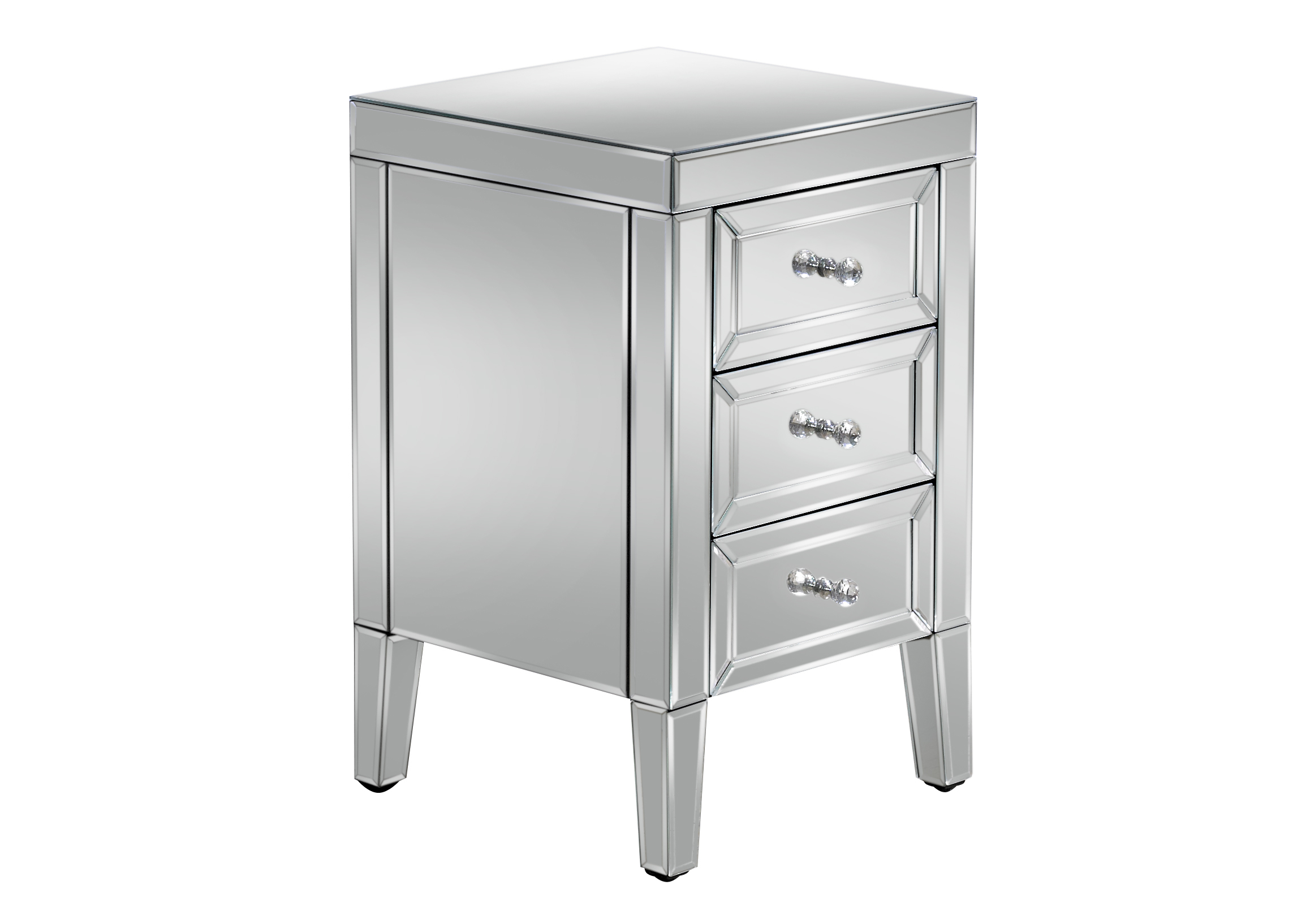 Birlea Valencia 3 Drawer Bedside Cabinet