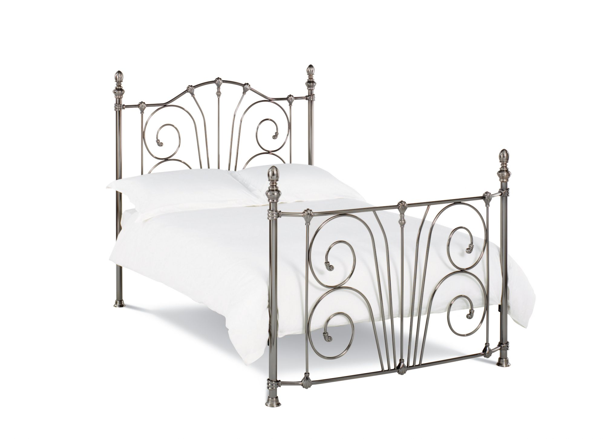 Bentley Designs Rebecca Nickel Double Bedframe