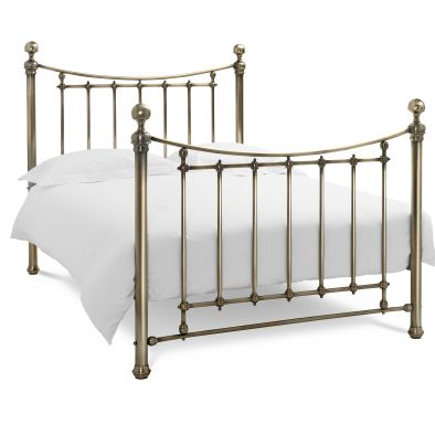 Bentley Designs Isabelle Antique Brass Kingsize Bedframe
