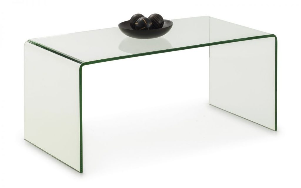 Julian Bowen Amalfi Glass Coffee Table
