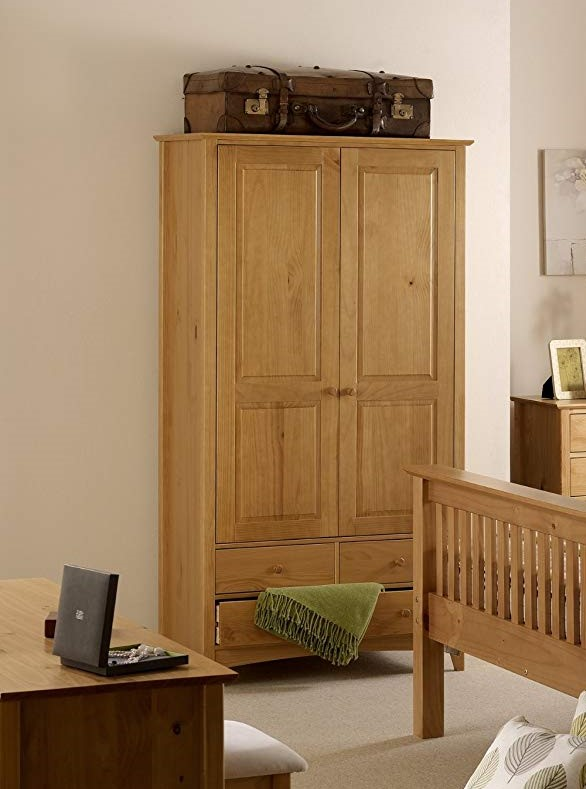 Julian Bowen Kendal 2 Door Combination Wardrobe