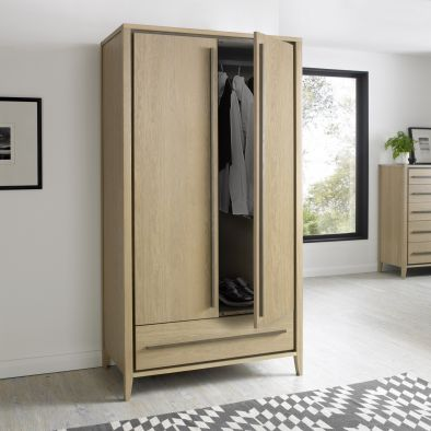 Bentley Designs Rimini Double Wardrobe