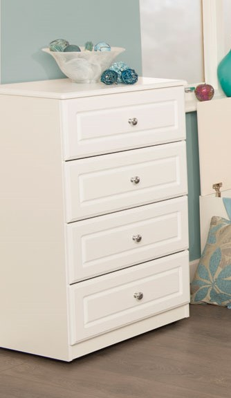 SJ Units Tudor 600 4 Drawer Chest