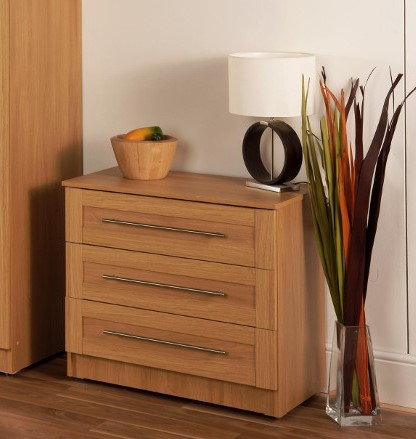 Maysons Parma Oak 3 Drawer 30″ Chest