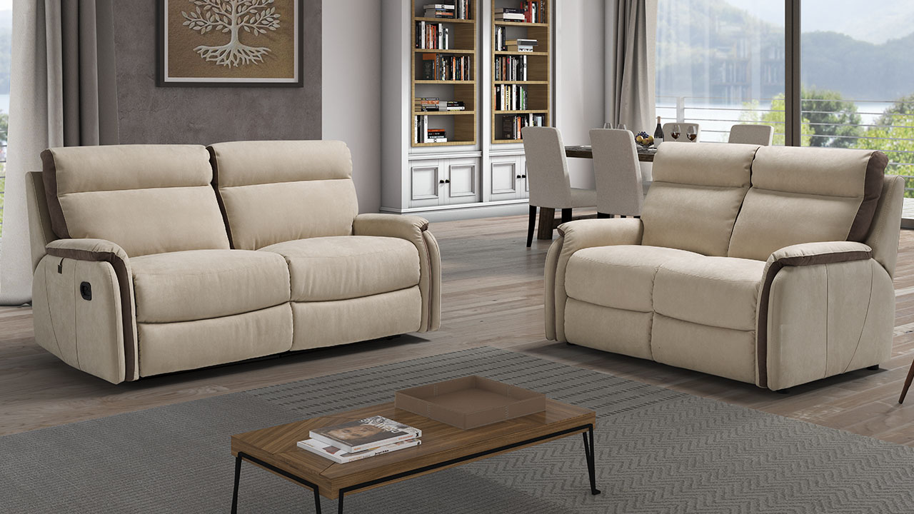 New Trend Fox 3 Seater & 2 Seater Sofas