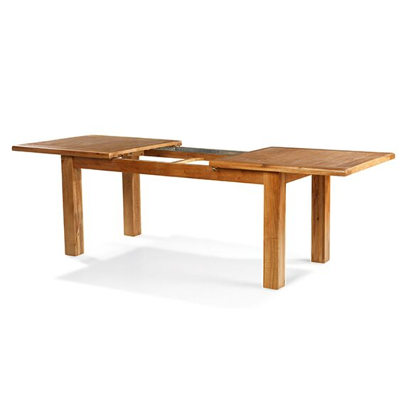 Hereford Saxon Oak Medium Extending Table & 4 Chairs