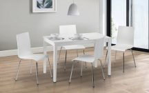 Julian Bowen Taku Table & 4 Mandy Chairs