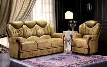 Mini Divani Colleen 3 Seater Sofa & 2 Chairs in Cat A Hide