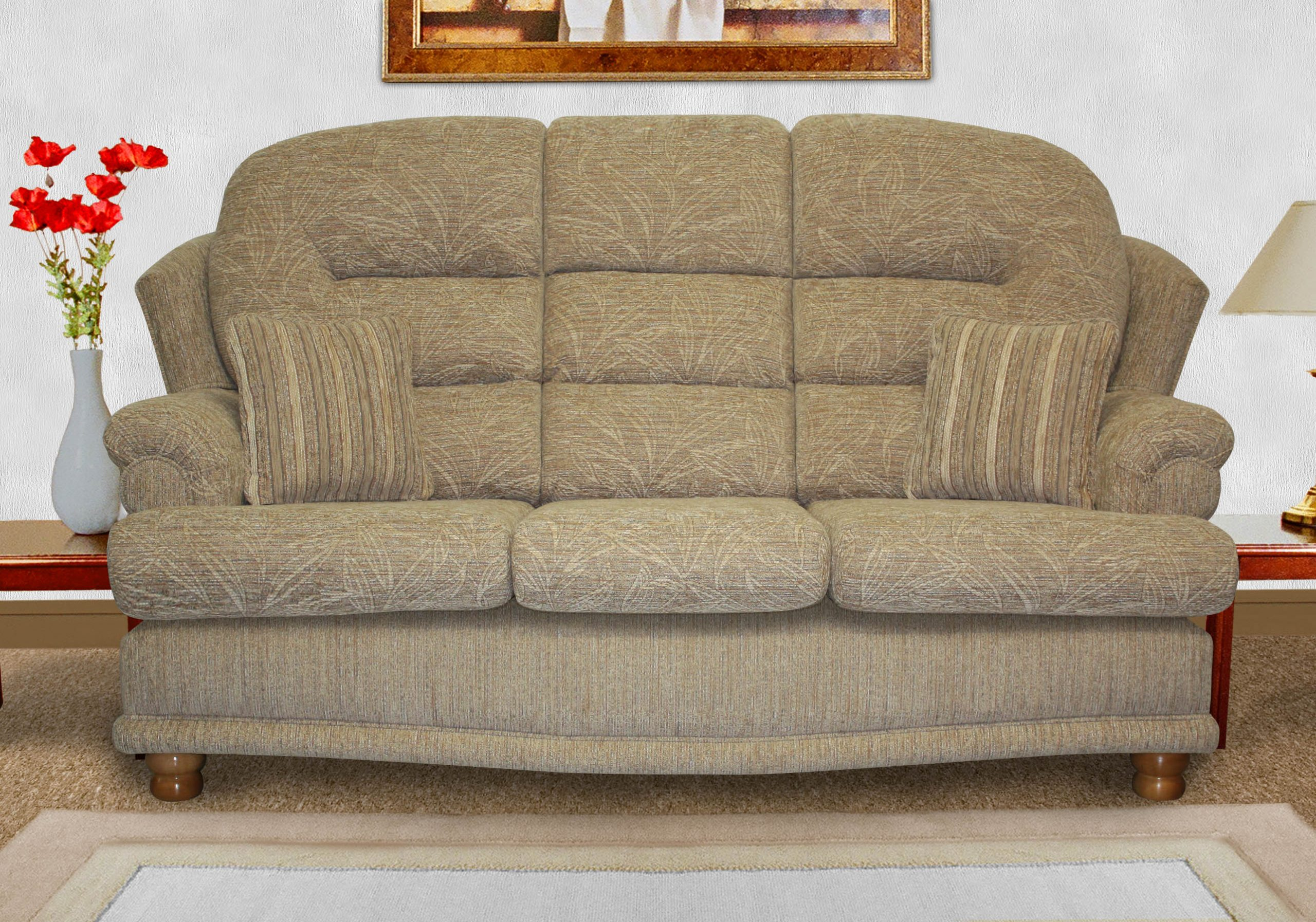 Ideal Upholstery Ledbury 3 Seater Sofa