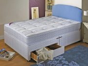 Durabed Ashleigh Small Double Divan Set with 2 Drawers