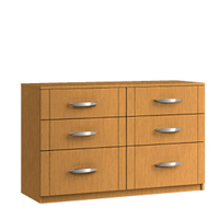 Maysons Capri 6 Drawer Twin Chest