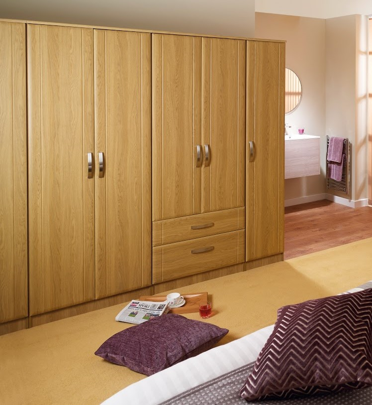 Maysons Capri Tall Double Wardrobe