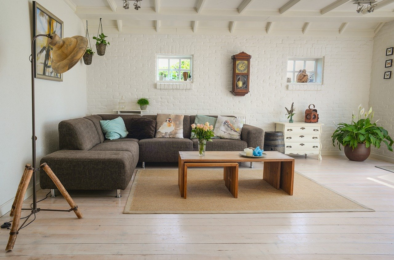 tips for furnishing a large living room