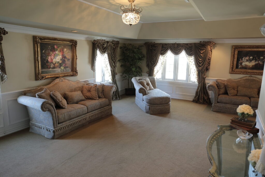 Romantic furniture style